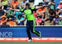 Kevin O'Brien celebrates catching Chris Gayle ©INPHO/PHOTOSPORT/Chris Symes
