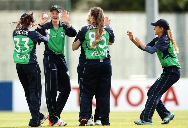 Ireland came close to victory in two of the games before Australia dominated the third.