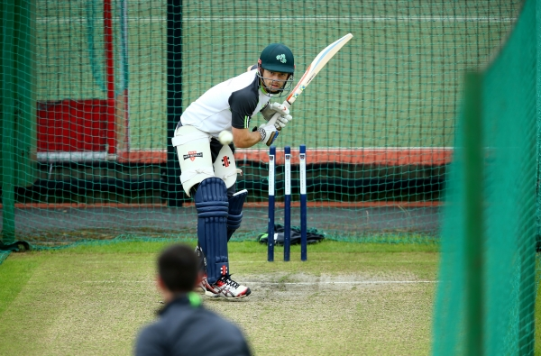 Ed Joyce broke the record for the highest individual score for Ireland with his first double hundred of the year.