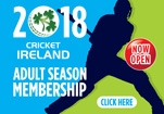 <center>Cricket Ireland Membership 2018</center>