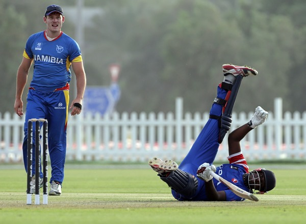 Usa Namibia cricket
