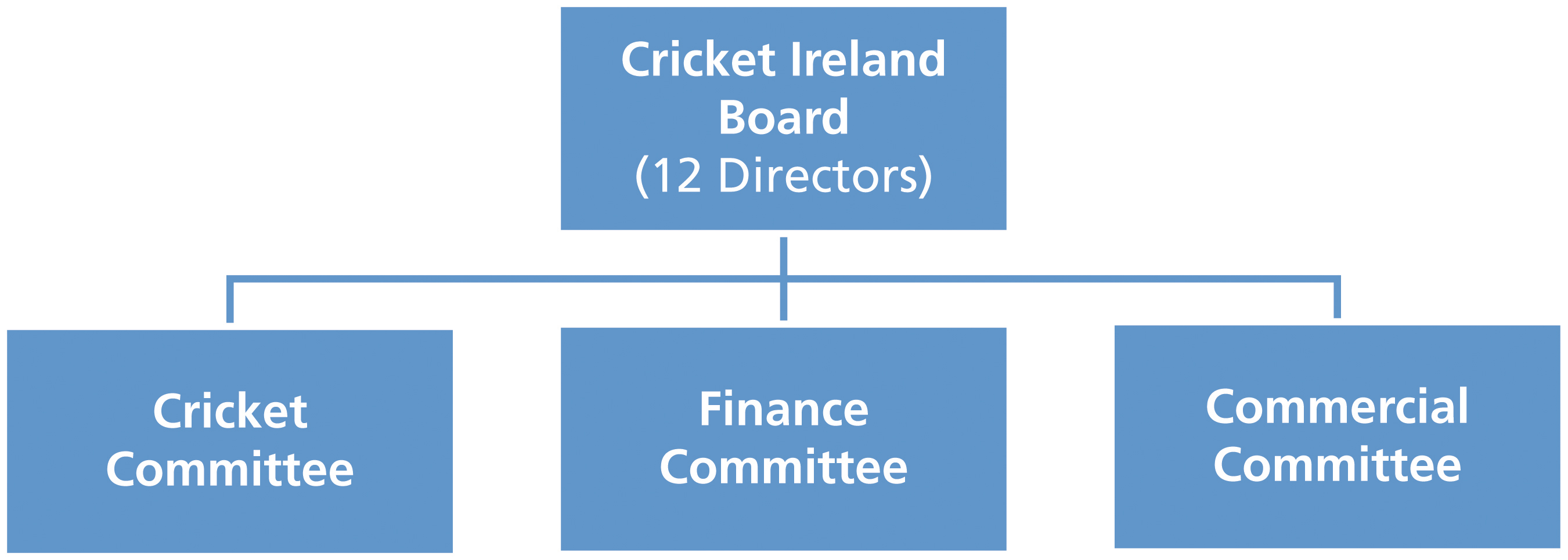 Board Structure of Cricket Ireland