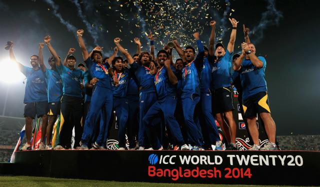 World Twenty20 Champions Sri Lanka