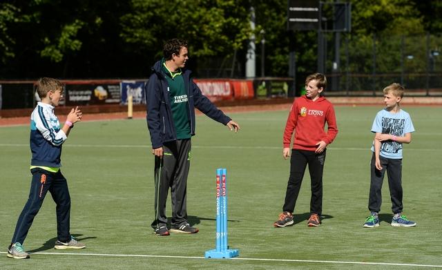 Kids cricket training