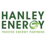 Hanley Energy (Official Ireland Women's team partner; Official Technology Partner) logo